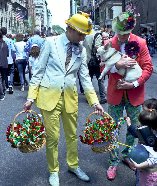 Dye in the cotton, Easter Parade, NYC 2011