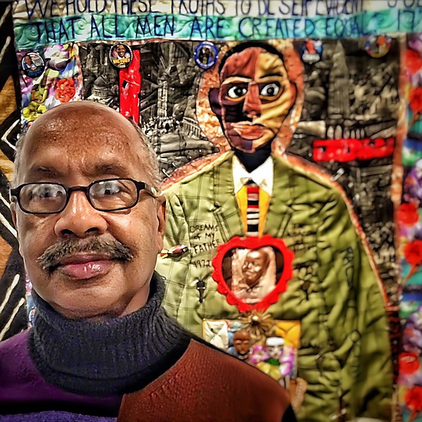 Michael Cummings, quilt artist