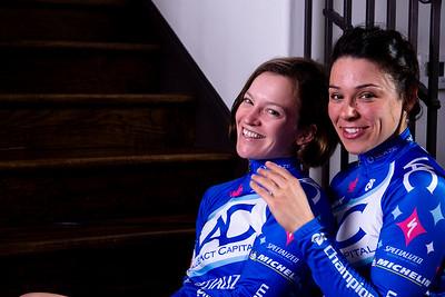 Courtenay Brown and Martina Patella