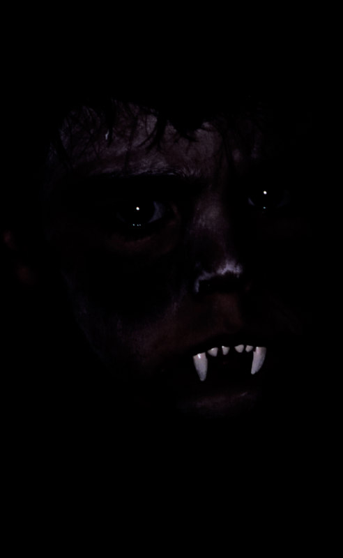 The last thing you will see - Halloween Portrait