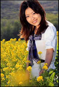 Vicky in Spring
