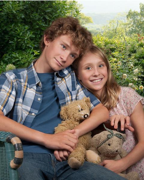 Willburn Kids with Garden Behind copy