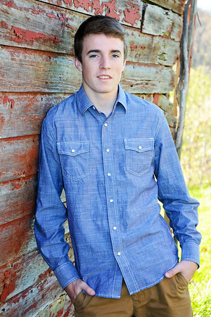 Wade's Senior Pictures by Rose Minutolo