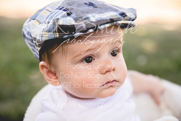 Charlie Brown | Six Month Session | Orangevale Photography | September 2014