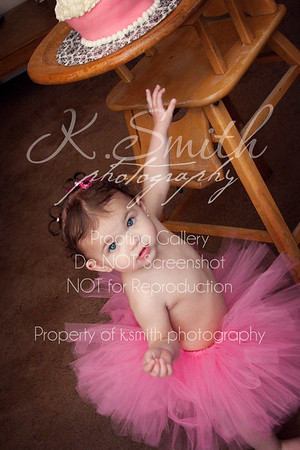 Skylar | One Year Session | Mountain Ranch Photography | February 2013