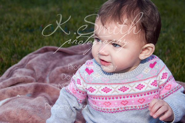 Skylar | Nine Month Session | Valley Springs Photography | January 2013