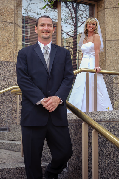 Jennifer and Charlie's  Wedding Day, Des Moines IA (7 May 2011)