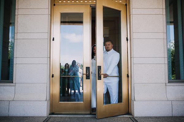Maurice + Jaclyn // Utah Wedding Photographer