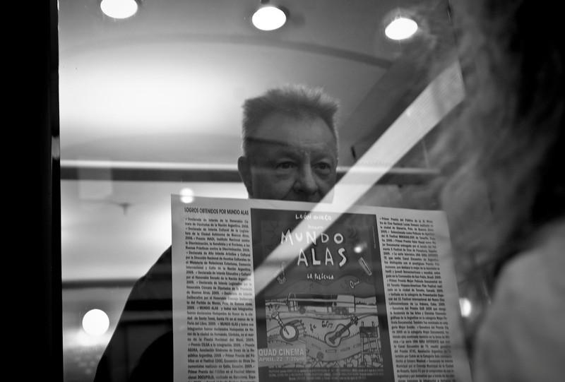 Leon Gieco, New York, 2010.