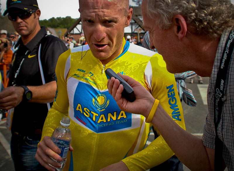 Lance Armstrong, Solvang, California, 2009.