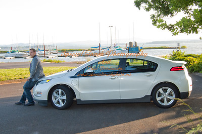 William McGlasson and his new Chevy Volt 5-17-14 -1128