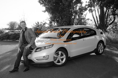William McGlasson and his new Chevy Volt 5-17-14 -1141