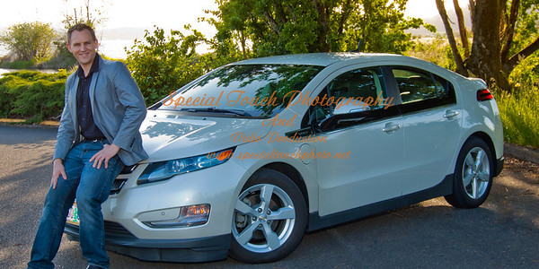 William McGlasson and his new Chevy Volt 5-17-14 -1148
