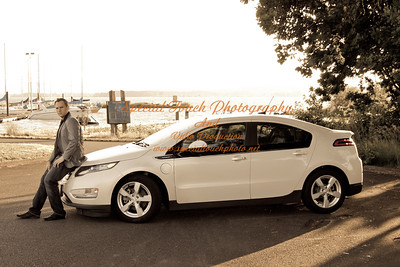 William McGlasson and his new Chevy Volt 5-17-14 -1125