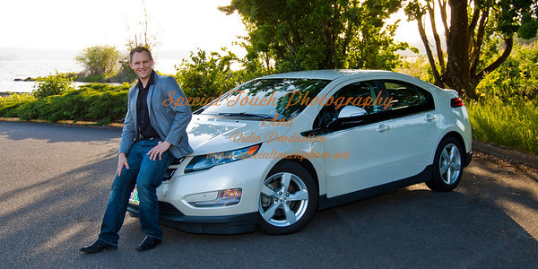 William McGlasson and his new Chevy Volt 5-17-14 -1147