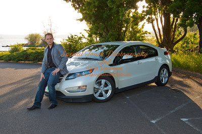 William McGlasson and his new Chevy Volt 5-17-14 -1134
