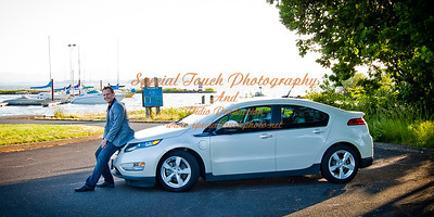 William McGlasson and his new Chevy Volt 5-17-14 -1118