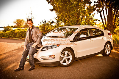 William McGlasson and his new Chevy Volt 5-17-14 -1142