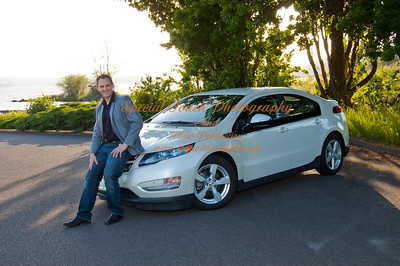 William McGlasson and his new Chevy Volt 5-17-14 -1140