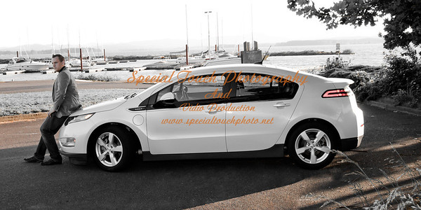 William McGlasson and his new Chevy Volt 5-17-14 -1130