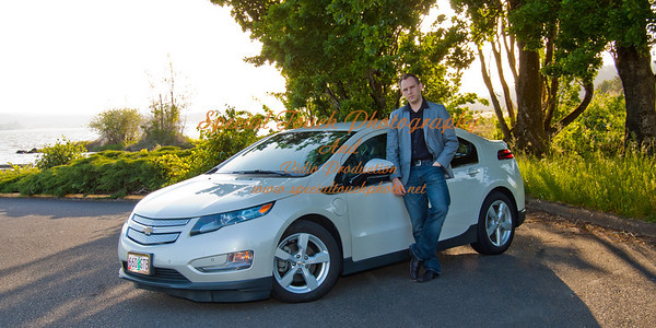 William McGlasson and his new Chevy Volt 5-17-14 -1155