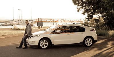 William McGlasson and his new Chevy Volt 5-17-14 -1126