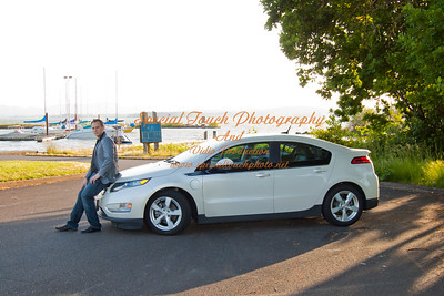 William McGlasson and his new Chevy Volt 5-17-14 -1120
