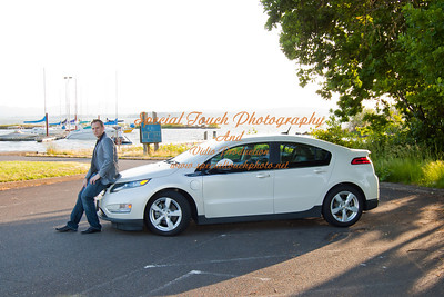 William McGlasson and his new Chevy Volt 5-17-14 -1119