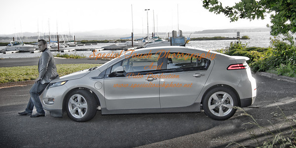 William McGlasson and his new Chevy Volt 5-17-14 -1132