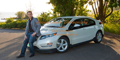 William McGlasson and his new Chevy Volt 5-17-14 -1136