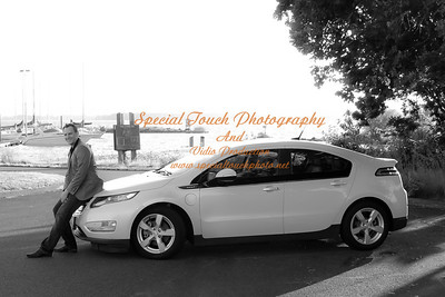 William McGlasson and his new Chevy Volt 5-17-14 -1116