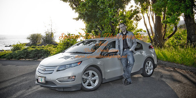 William McGlasson and his new Chevy Volt 5-17-14 -1153