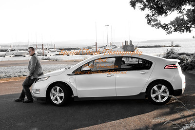 William McGlasson and his new Chevy Volt 5-17-14 -1129