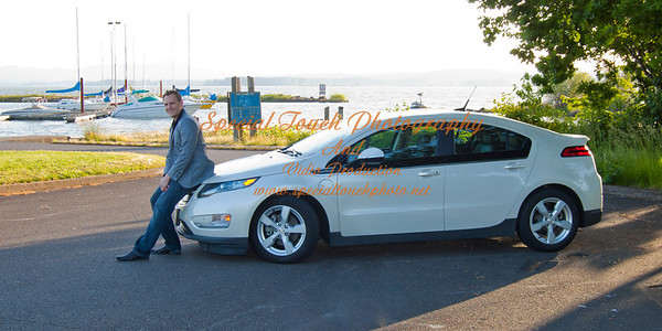 William McGlasson and his new Chevy Volt 5-17-14 -1112