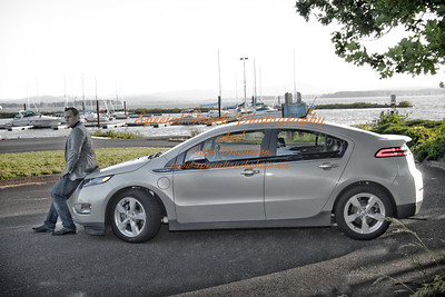 William McGlasson and his new Chevy Volt 5-17-14 -1131