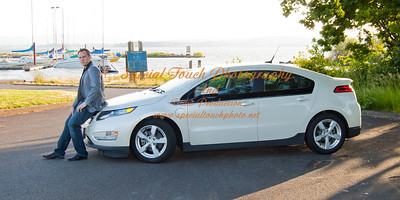 William McGlasson and his new Chevy Volt 5-17-14 -1121