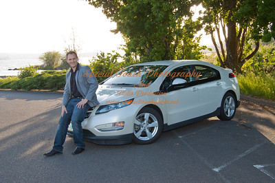 William McGlasson and his new Chevy Volt 5-17-14 -1139
