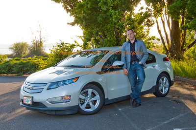 William McGlasson and his new Chevy Volt 5-17-14 -1150