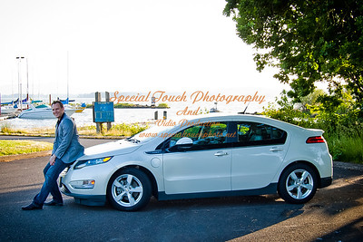 William McGlasson and his new Chevy Volt 5-17-14 -1115