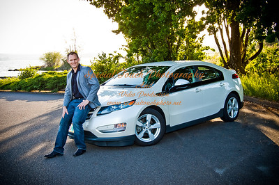 William McGlasson and his new Chevy Volt 5-17-14 -1145