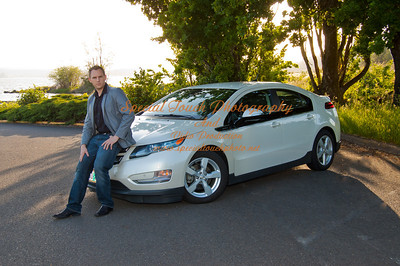 William McGlasson and his new Chevy Volt 5-17-14 -1135