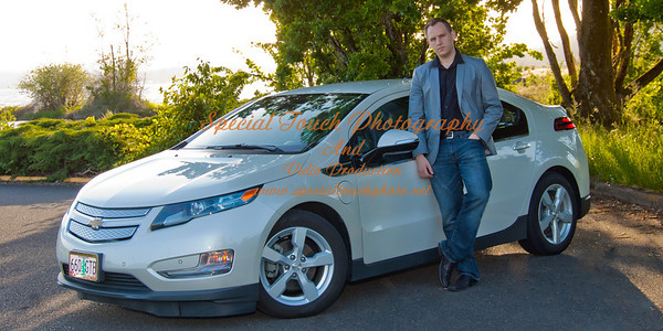 William McGlasson and his new Chevy Volt 5-17-14 -1156