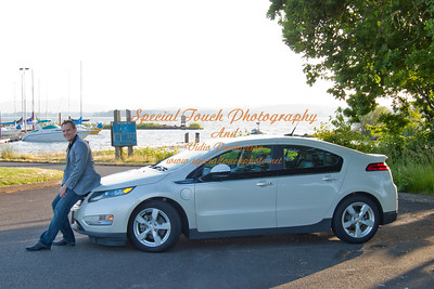William McGlasson and his new Chevy Volt 5-17-14 -1114