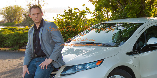 William McGlasson and his new Chevy Volt 5-17-14 -1137
