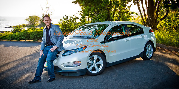 William McGlasson and his new Chevy Volt 5-17-14 -1146