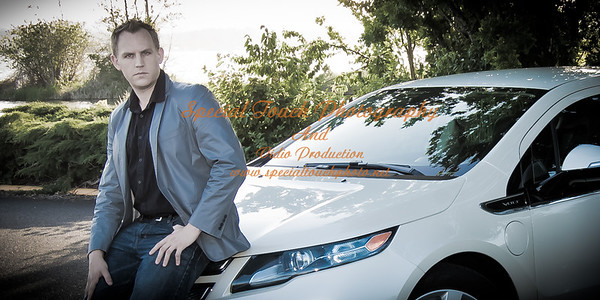 William McGlasson and his new Chevy Volt 5-17-14 -1138