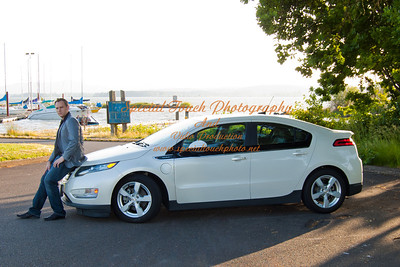 William McGlasson and his new Chevy Volt 5-17-14 -1122
