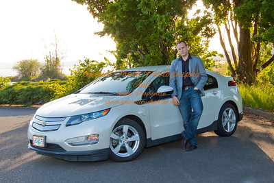 William McGlasson and his new Chevy Volt 5-17-14 -1151