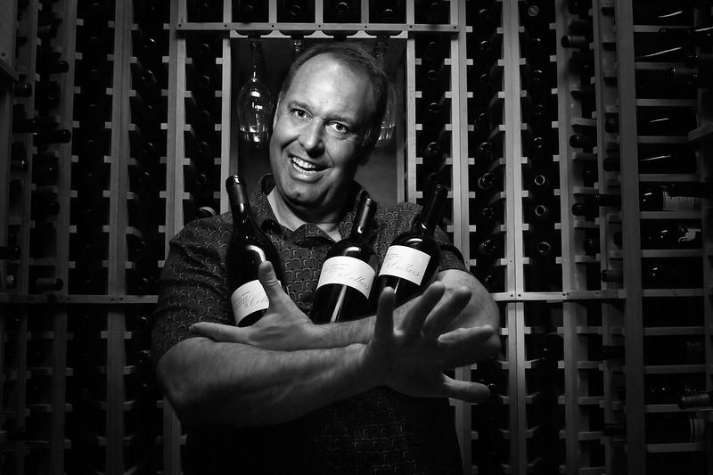 Russell Bevan, winemaker at Bevan Cellars
