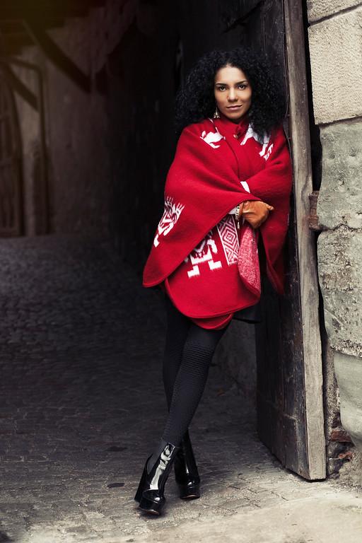 Fashion Inspired Portrait in an Austrian Castle by Sacramento Photographer Mayumi Acosta